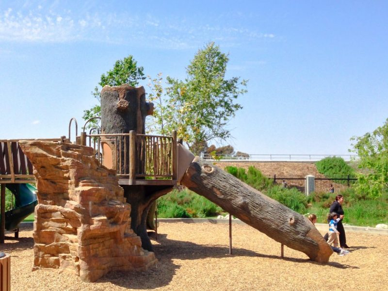 Image of the slide at Dills park.