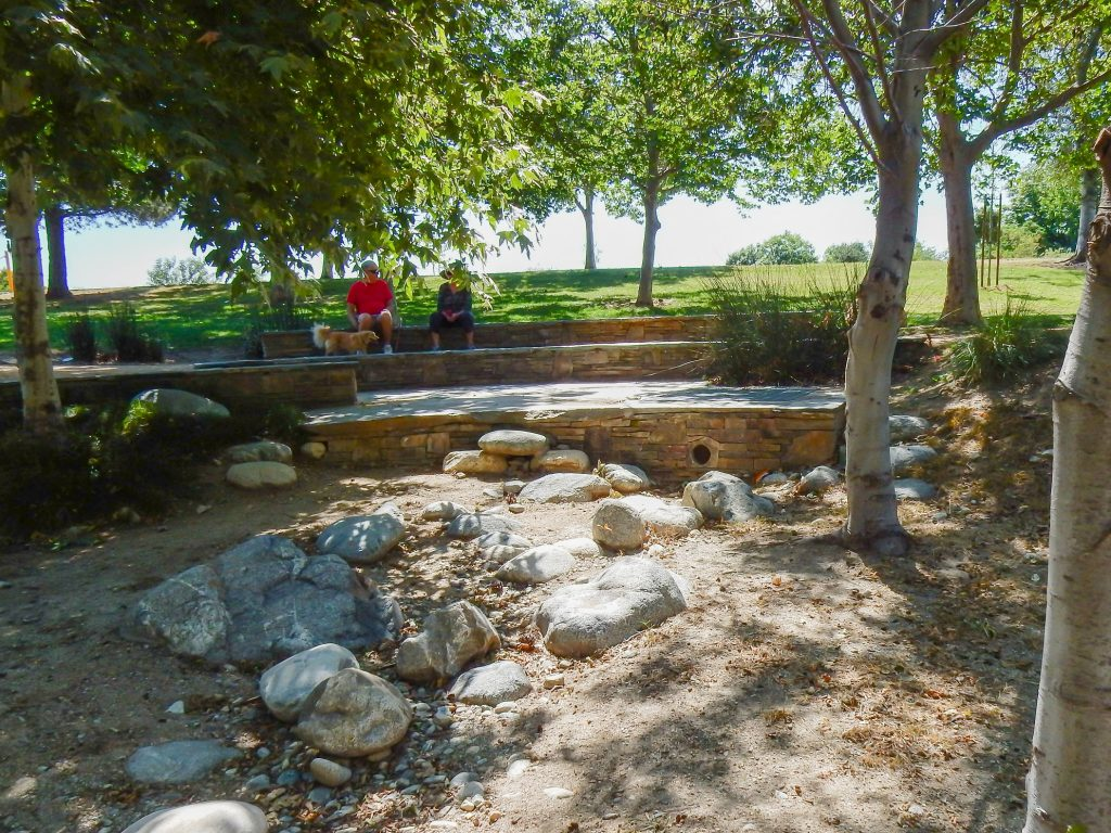 Image of Encanto Park Nature Walk trail with rocks