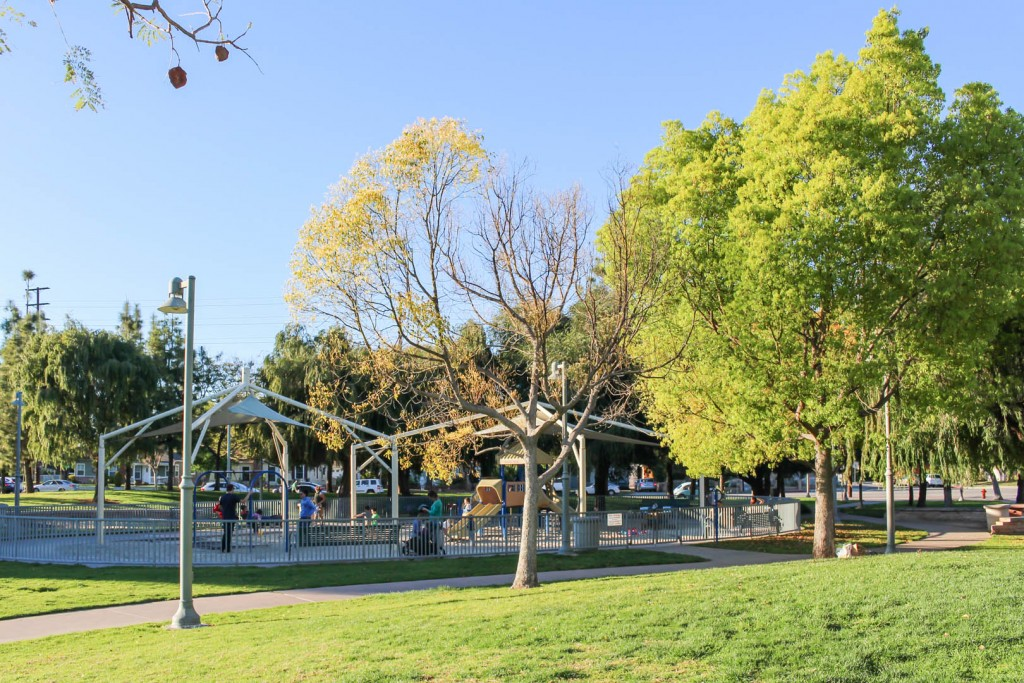 Beautiful overall image of Glendale Central Park
